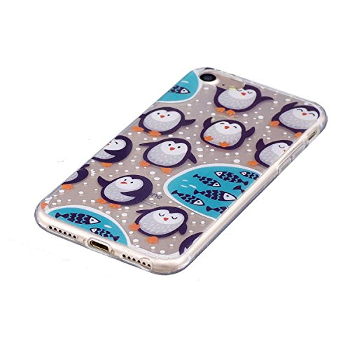 SainCat Custodia in Pelle per iPhone 7 Custodia-195 Giochi